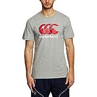 Canterbury - Camiseta de Manga Corta para Hombre, diseño con Logotipo CCC