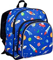 Wildkin 40077 Olive Kids Out of this World 12 Inch Backpack, Pack 'n Snack