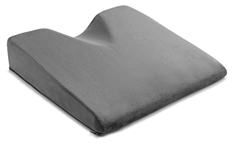 ComfySure Car Seat Wedge Cushion For Lower Back Pain Relief While Driving    Medium Firm