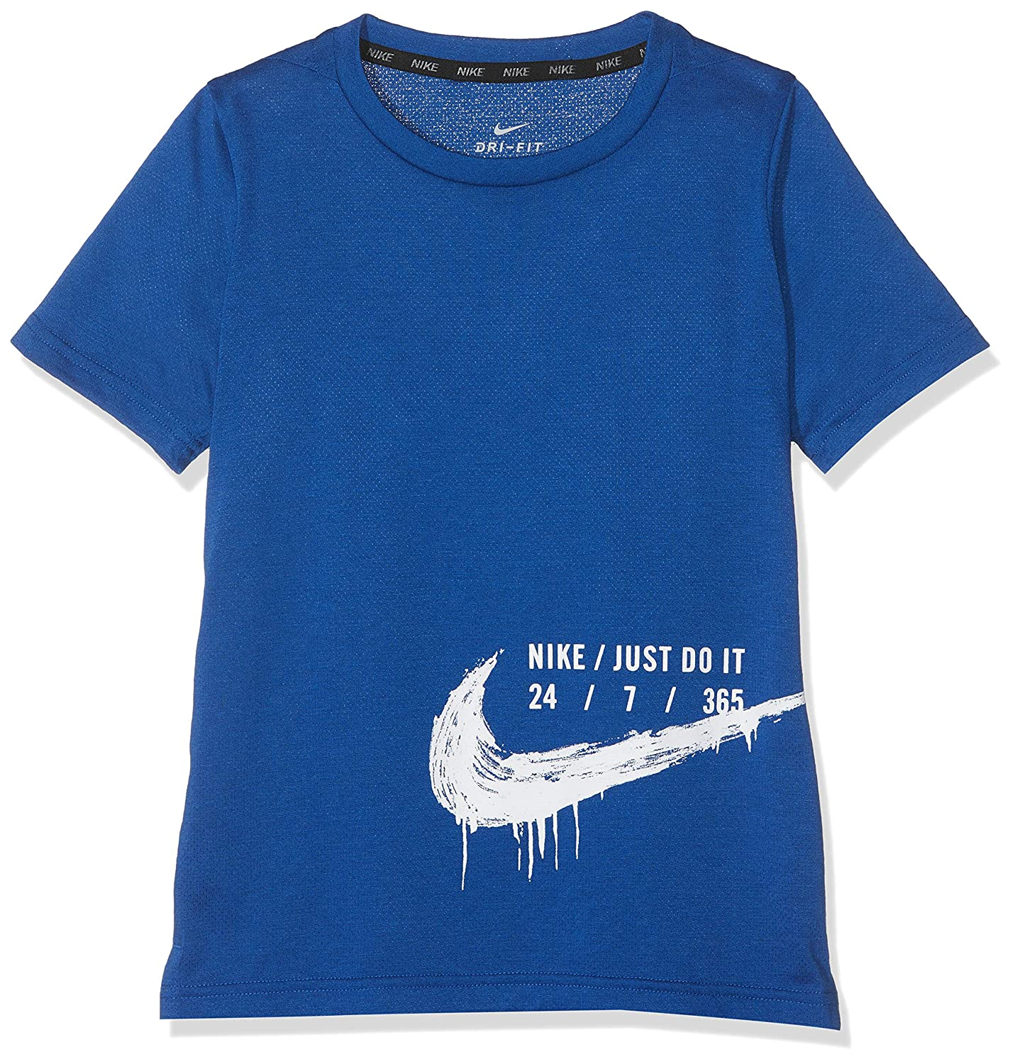 Nike Breathe Top Short-Sleeve Hyper Dry T-Shirt Bambino