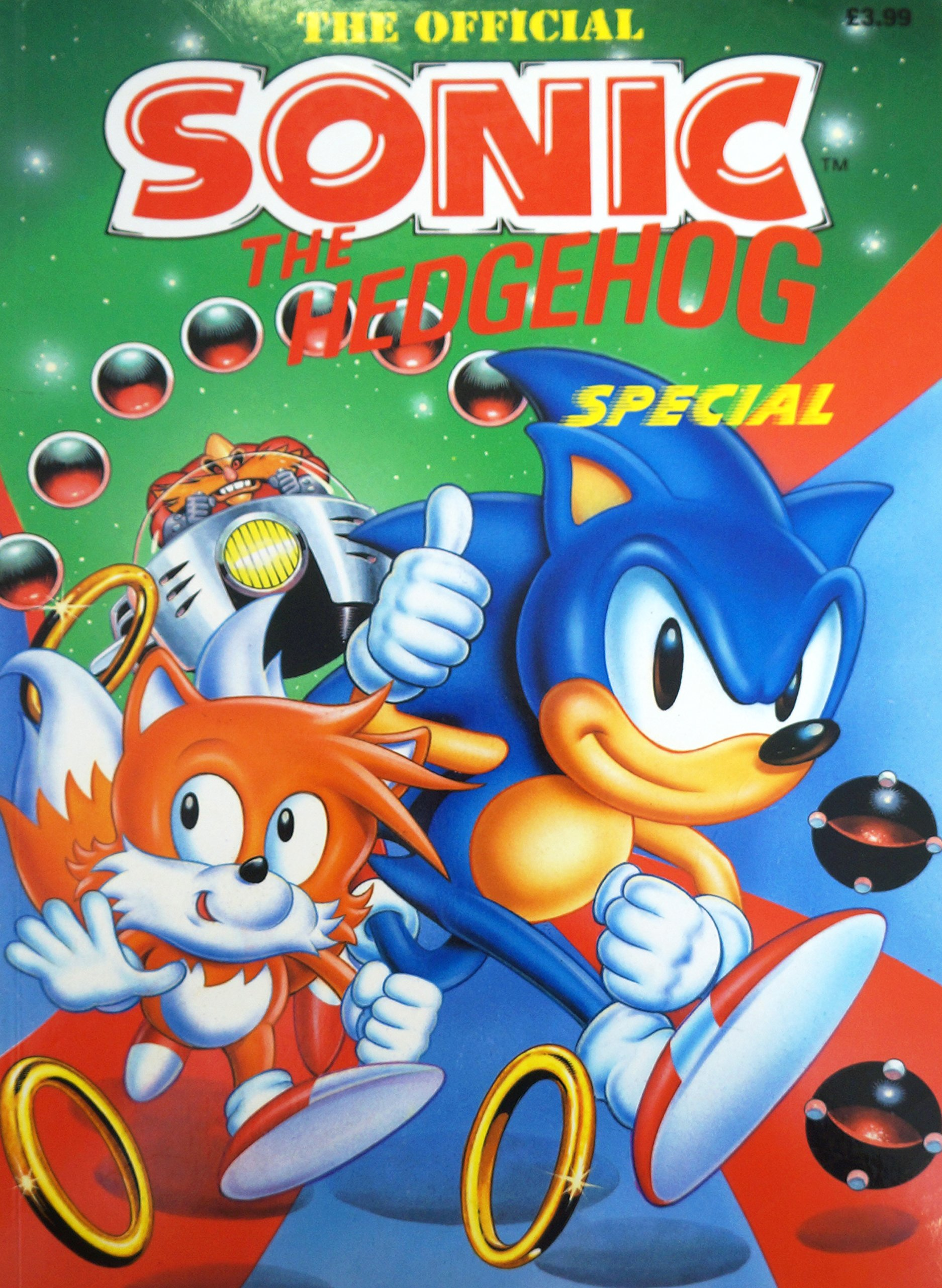 sonic the hedgehog annual 1995 amazon co uk grandreams