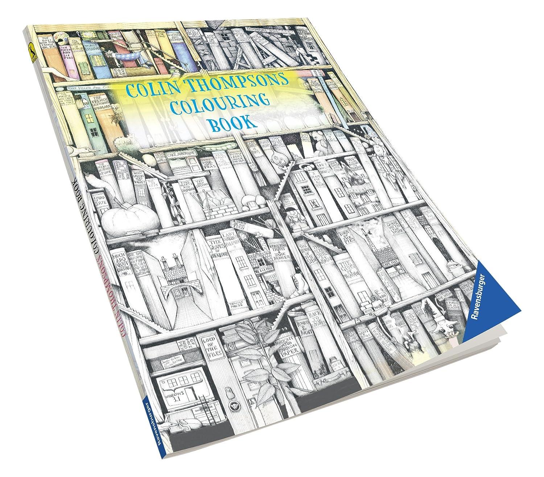 amazon com colin thompson funtastic 72 page colouring book