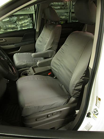Durafit Seat Covers, Honda Odyssey GRAY 8 Passenger Van Complete Set. Seat  Covers In