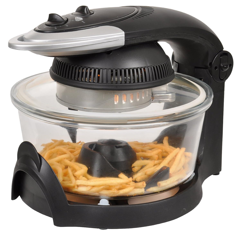 Efbe-Schott OT 1003 CF - Aparato de cocina multifunción (horno halógeno, freidora, grill, vaporera, 1650 W): Amazon.es: Hogar