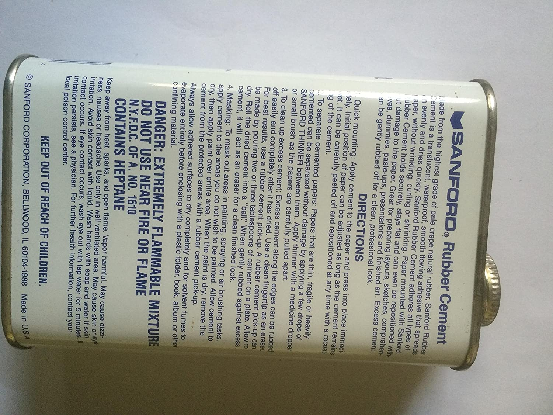 Grand Kanister Kleber Rubber Cement Sanford, 470 ml, Klebstoff auf ...