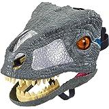 Mattel FMB74 Jurassic World Chomp 'N Roar Mask Velociraptor Blue