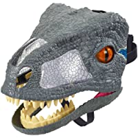 Mattel FMB74 Jurassic World Chomp'N Roar Mask Velociraptor, Blue