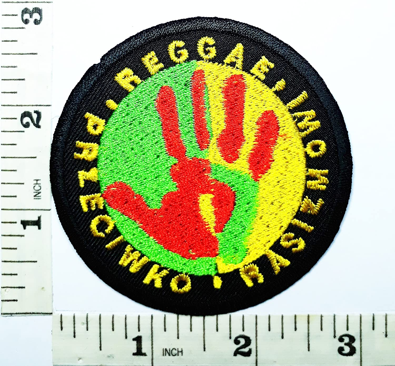 Bob Marley Música Reggae Ska Rasta marihuana símbolo parche ...