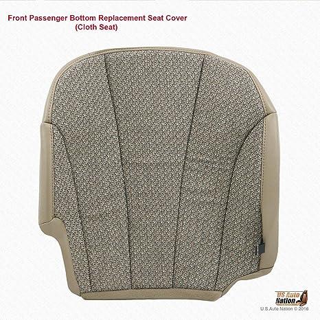 Driver Side Bottom Cloth Seat Cover Tan 01 02 Chevy Silverado 3500 Work Truck