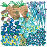 Fun Express Earth Day Assortment - 250 Pieces - Educational and Learning Activities for Kids