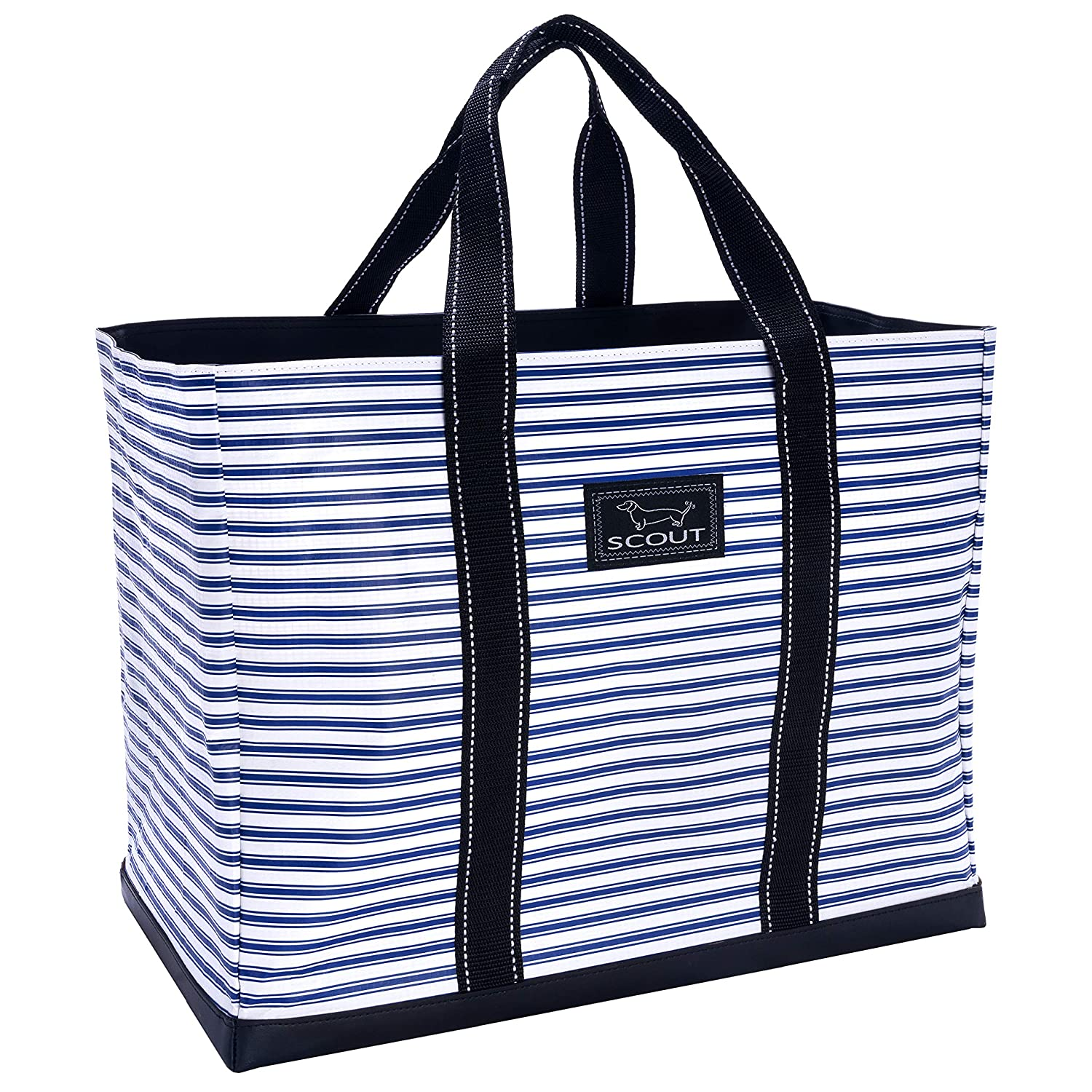 Stripe Right SCOUT Original DEANO Tote Bag, Water Resistant Large Tote Bag for Women (Multiple Patterns Available) (Rock The Boat)