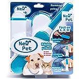 New Pet, Kit de Cepillos Reutilizables, Quita Pelusas de Ropa, Ideal para Dueños de Perros y Gatos, Atrapa Pelusa de Lavadora
