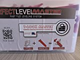 "T-Lock 1/32"" PERFECT LEVEL MASTER - Complete KIT"" - Anti lippage Tile leveling system - 300 spacers & 100 wedges in handy bucket ! Tlock"