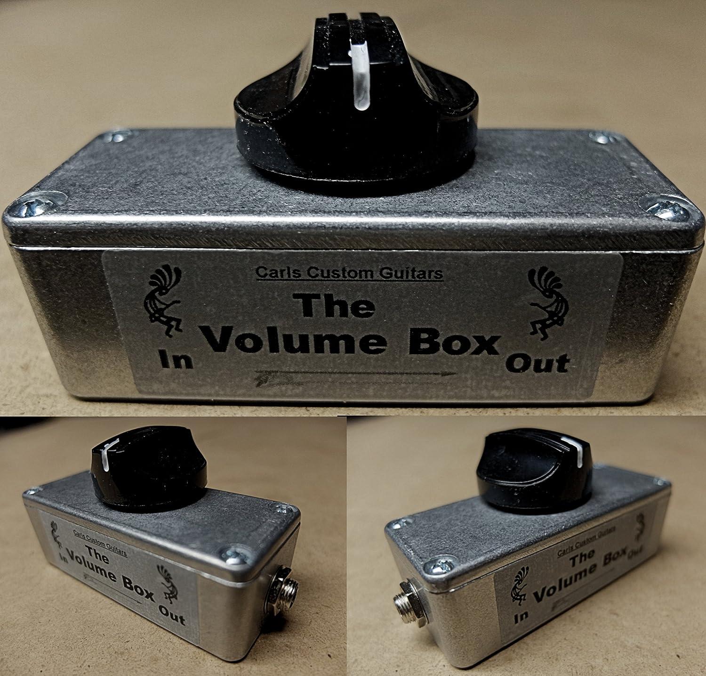 Carl's Custom Guitars Metal Volume Box Guitar Amp Attenuator/Power Soak/Plate/Mass/Hot/Pad Carl' s Custom Guitars