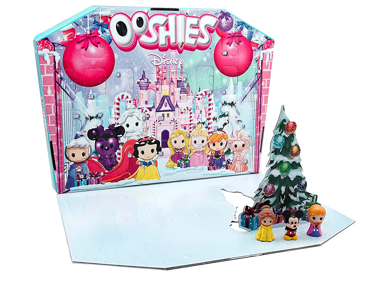 Ooshies 77172.0030 Disney Advent Calendar, Multicolour Headstart