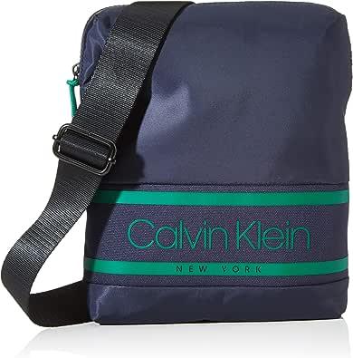 Calvin Klein Striped Logo Flat Crossover - Shoppers y bolsos de hombro Hombre