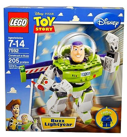 Amazon Com Lego Toy Story Construct A Buzz 7592 Toys Games