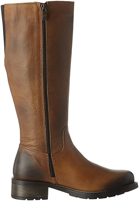 25501, Botas para Mujer, Amarillo (Saffron Antic), 38 EU Be Natural