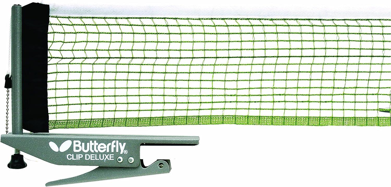Butterfly Clip Deluxe Tischtennisnetz und Pfostenset