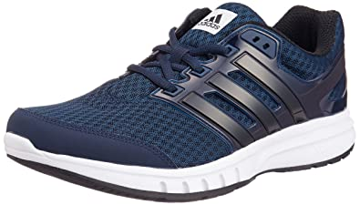 check out d6b9a 05dc0 adidas Galaxy Elite Mens Running Trainer Shoe Navy Blue, UK 8