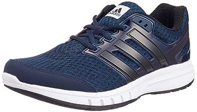 adidas galassia elite mens correndo trainer scarpa blu navy, uk 8