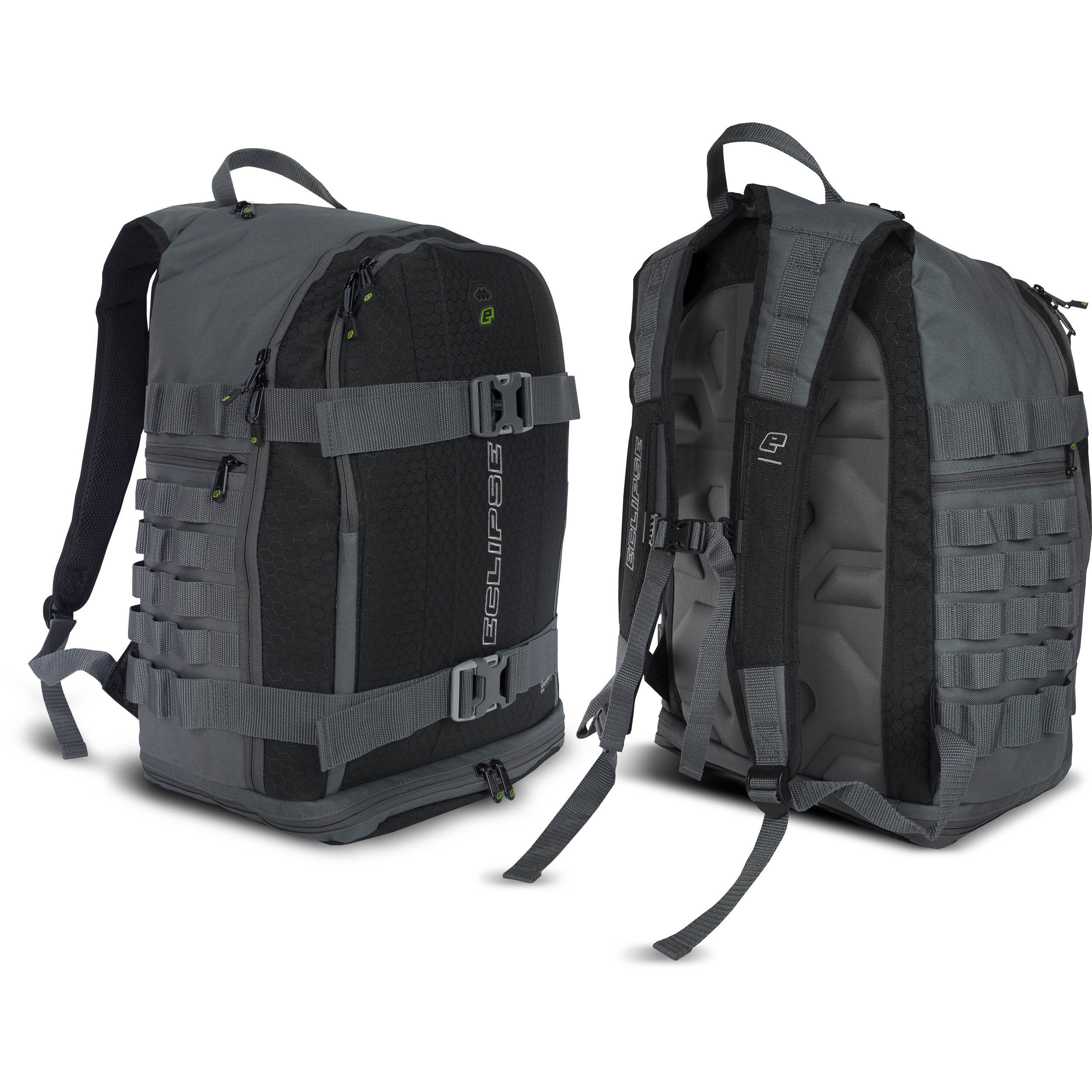 Planet Eclipse GX Paintball Gravel backpack Bag (Charcoal) by Planet Eclipse