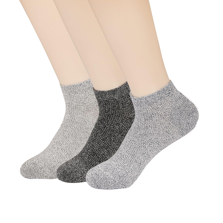 Mens Low Cut Ankle Socks Non-Slip Ventilation Deodorant Cotton Socks