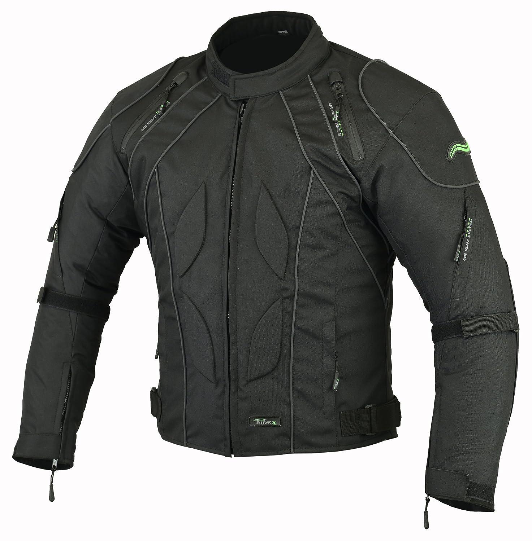 RIDEX Mens CJ2 Motorbike Motorcycle Waterproof Protection Jacket