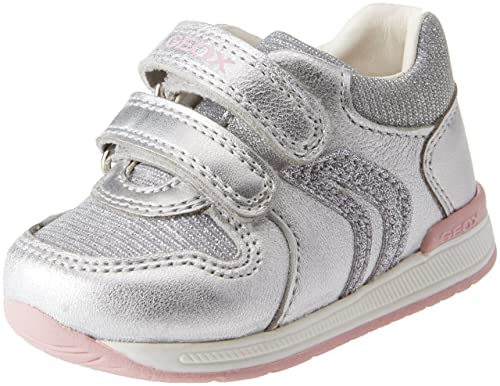 ed89419e2b44 Geox Baby Girls   B Rishon B Low-Top Sneakers  Amazon.co.uk  Shoes ...