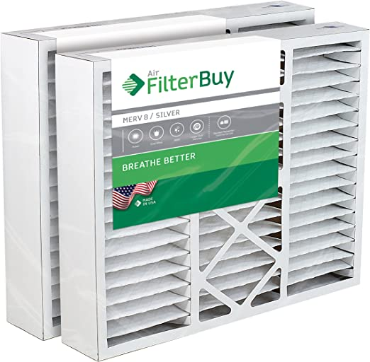 BDP 19x20x4.25 Merv 13 Replacement AC Furnace Air Filter 2 Pack