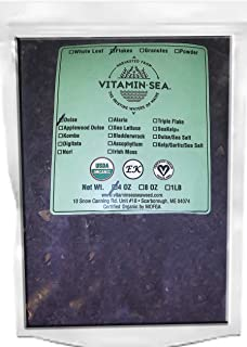 product image for VITAMINSEA Organic Raw Dulse Flakes - 4 OZ - Atlantic Seaweed Vegan Certified (DF4)