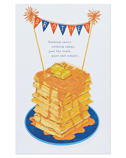 Amazon American Greetings Birthday Greeting Card For Brother