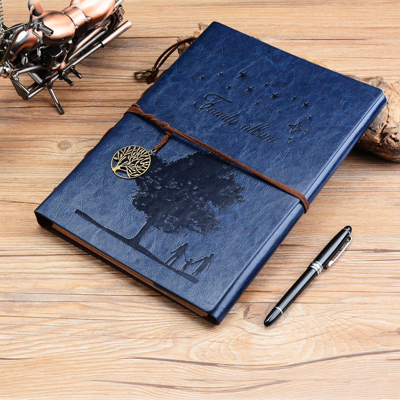 Scrapbook Fotoalbum, ZEEYUAN Große Familie Fotoalbum Growth Tree ...
