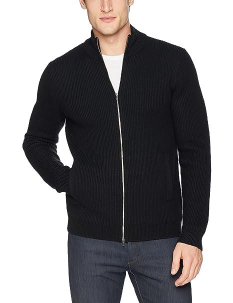 Amazon.com: Theory Rovira - Sudadera de lana con cremallera ...