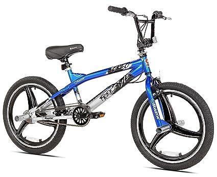 Amazon Com Razor Mag Wheel Freestyle Bike 20 Blue Sports