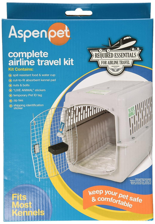 Aspen Pet 25019 Kennel Travel Kit