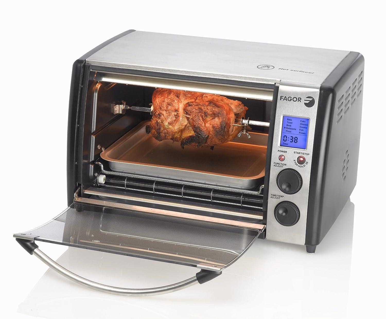Amazon.com: Fagor 670041770 Dual Tecnología Digital tostador ...
