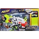 Nerf Nitro Nitro AeroFury Ramp Rage Hypershot, Color Oro, Naranja, Blanco (Hasbro E0408EU4)