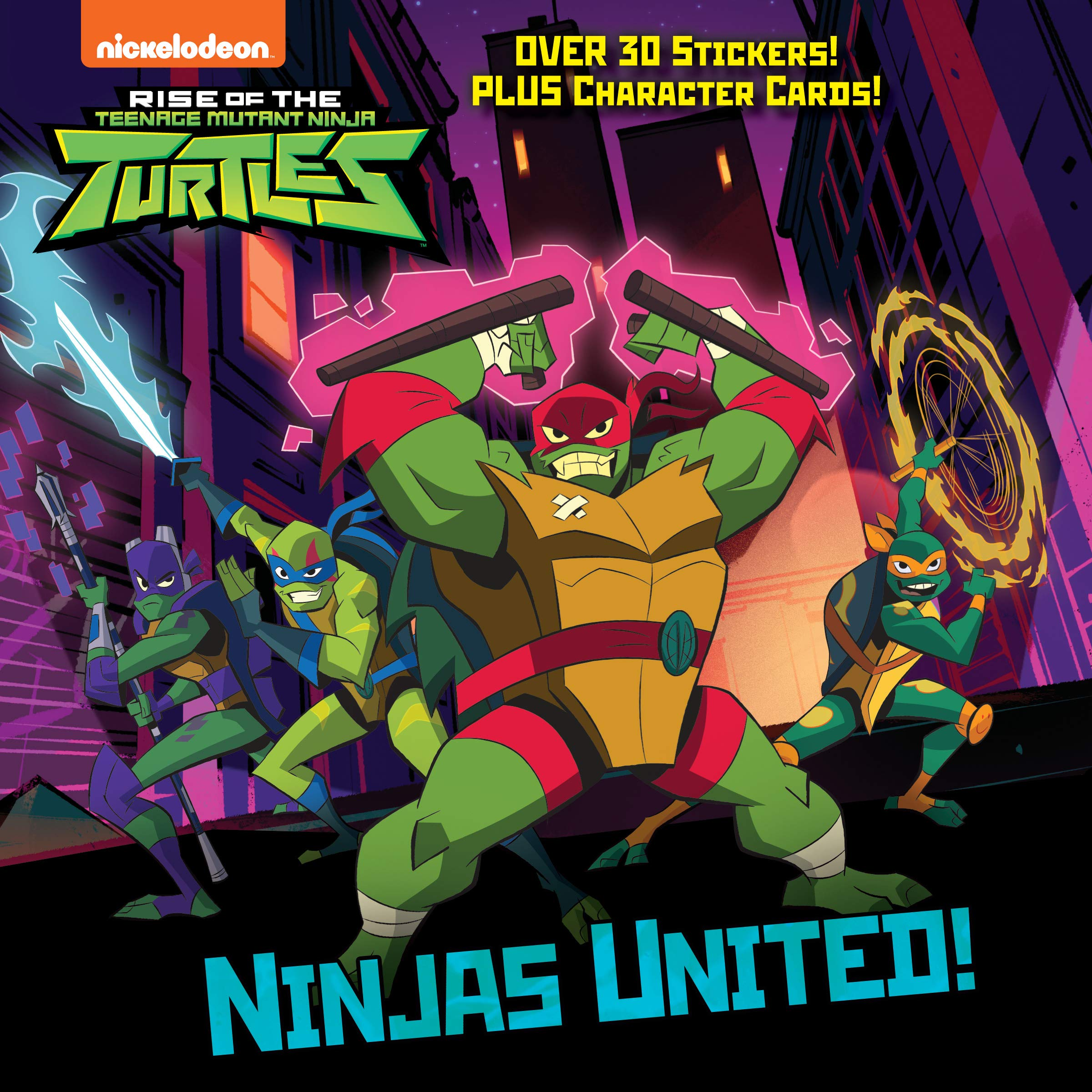 Ninjas United! (Rise of the Teenage Mutant Ninja Turtles ...