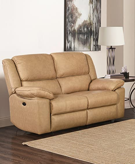 Cool Sc Furniture Ltd Beige High Grade 2 Seater Leather Electric Gamerscity Chair Design For Home Gamerscityorg