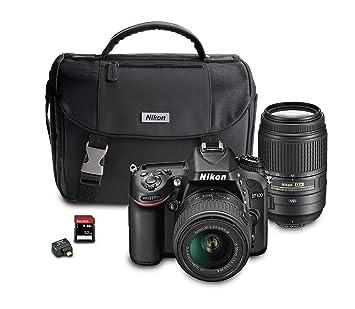 Amazon.com : Nikon D7100 DX-Format Digital SLR Camera Bundle with ...