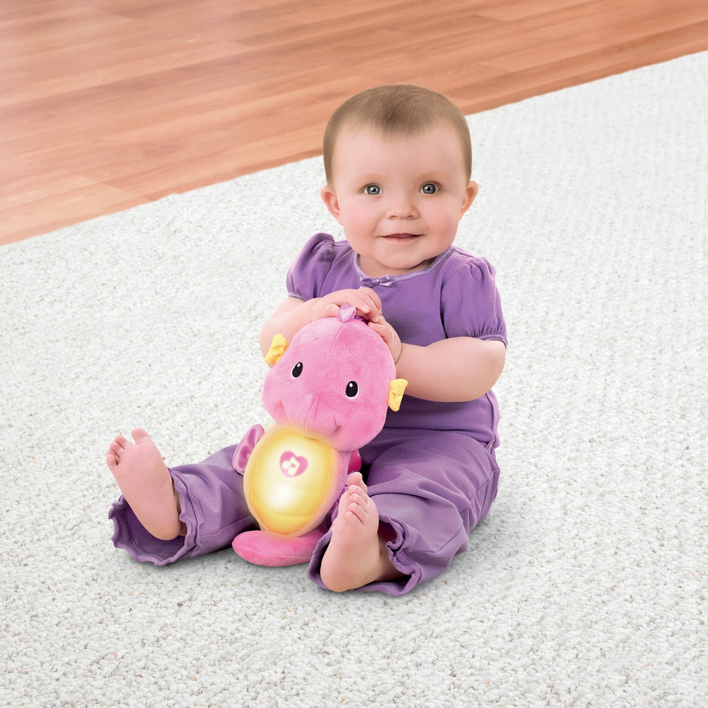 Fisher-Price Soothe & Glow Seahorse, Pink by Fisher-Price (Image #10)