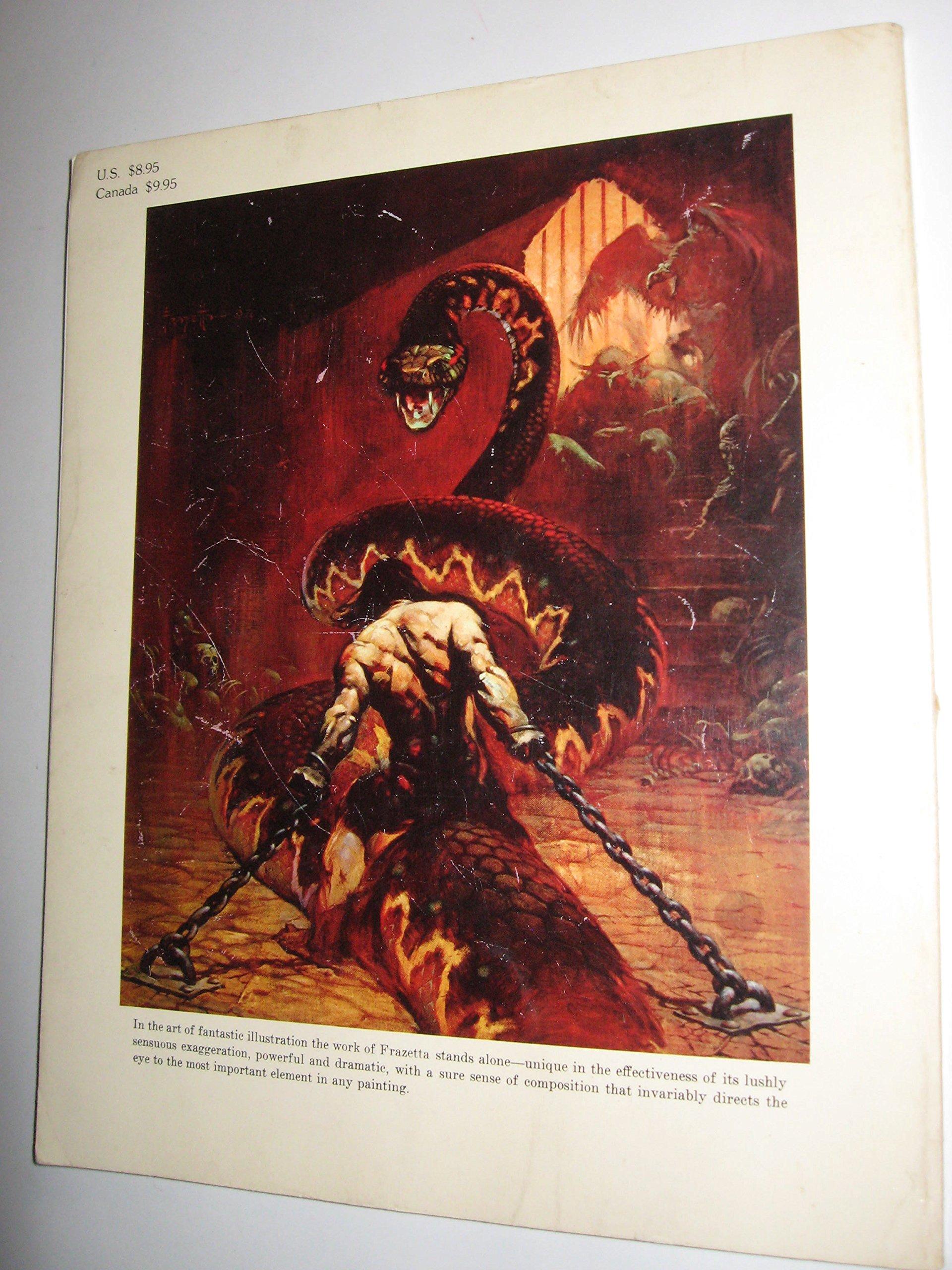 The Fantastic Art of Frank Frazetta: v. 1: Frank Frazetta, Betty  Ballantine: 9780330247979: Amazon.com: Books