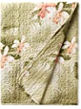 Quilted Throw (Tommy Bahama Tropical Orchid)