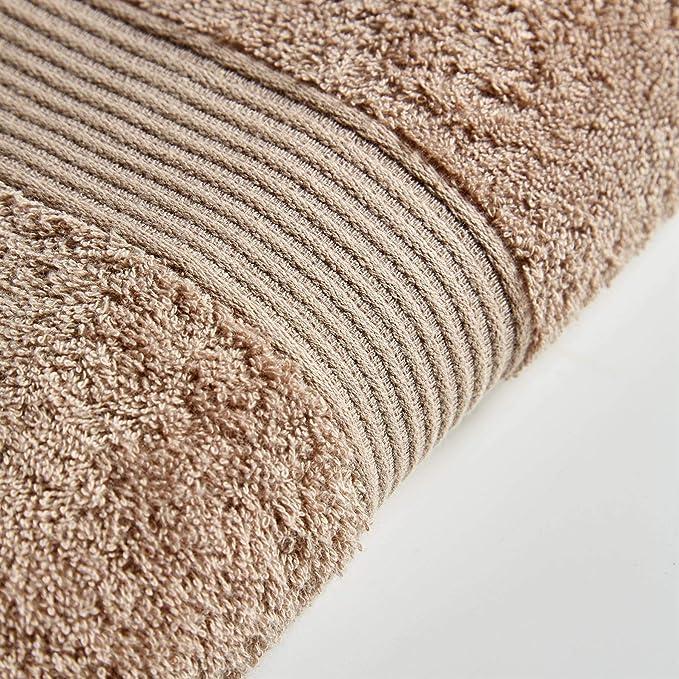 500 g//m/² Ocre Toallas de algod/ón Egipcio 4 Pack Face Cloths Olivia Rocco