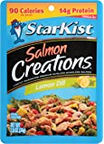 StarKist Salmon Creations Pouches, Lemon Dill, 2.6 Ounce (Pack of 12)