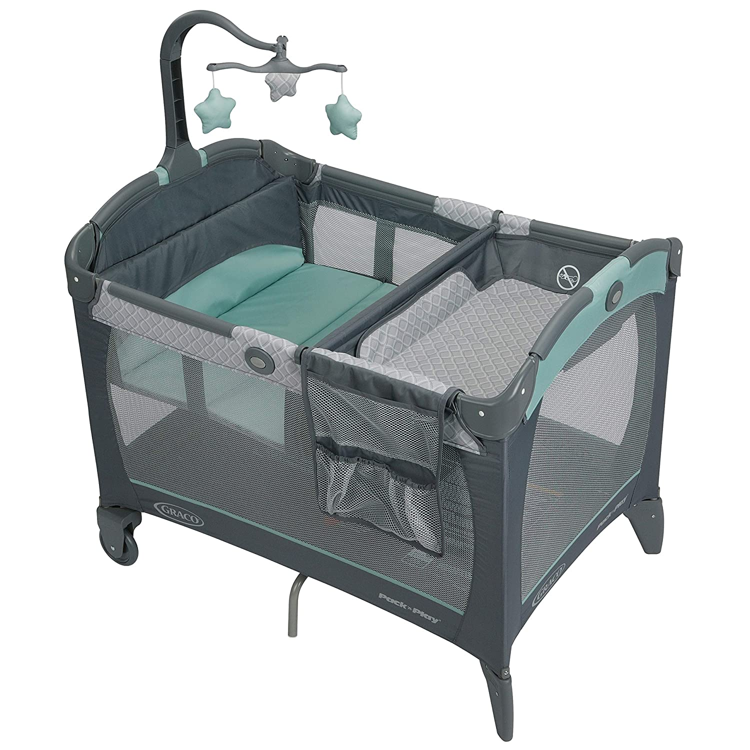 Graco Pack 'n Play Change 'n Carry Playard, Manor by Graco