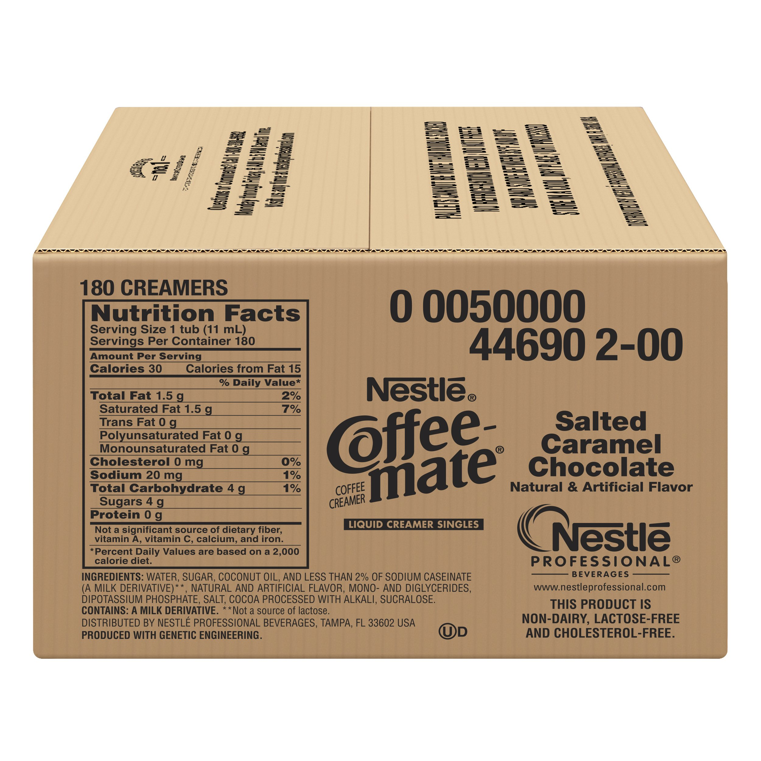 Nestle Coffee-mate Coffee Creamer, Salted Caramel Chocolate, liquid creamer singles, 180 Count (Pack of 1) by Nestle Coffee Mate (Image #6)