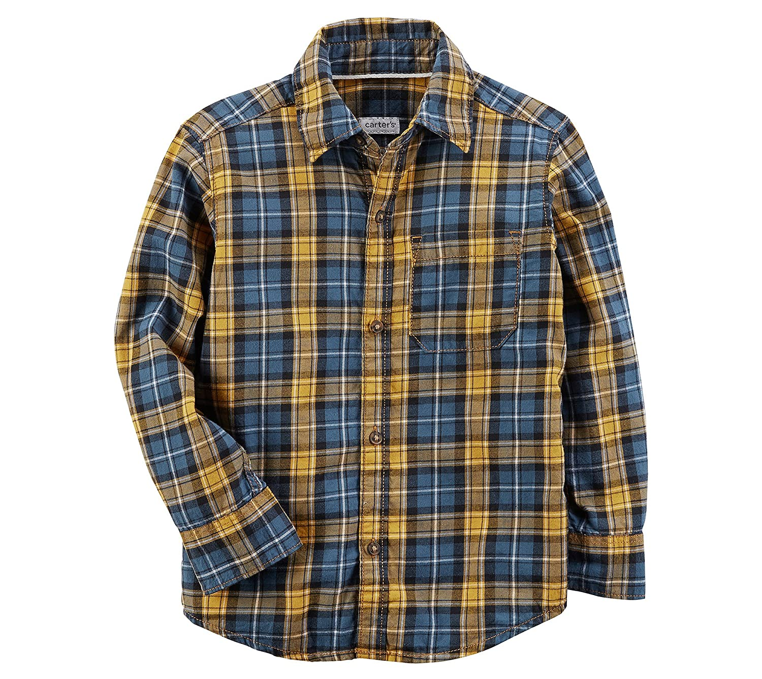 Carter's Baby Boys' Plaid Button-Front Shirt 225H082
