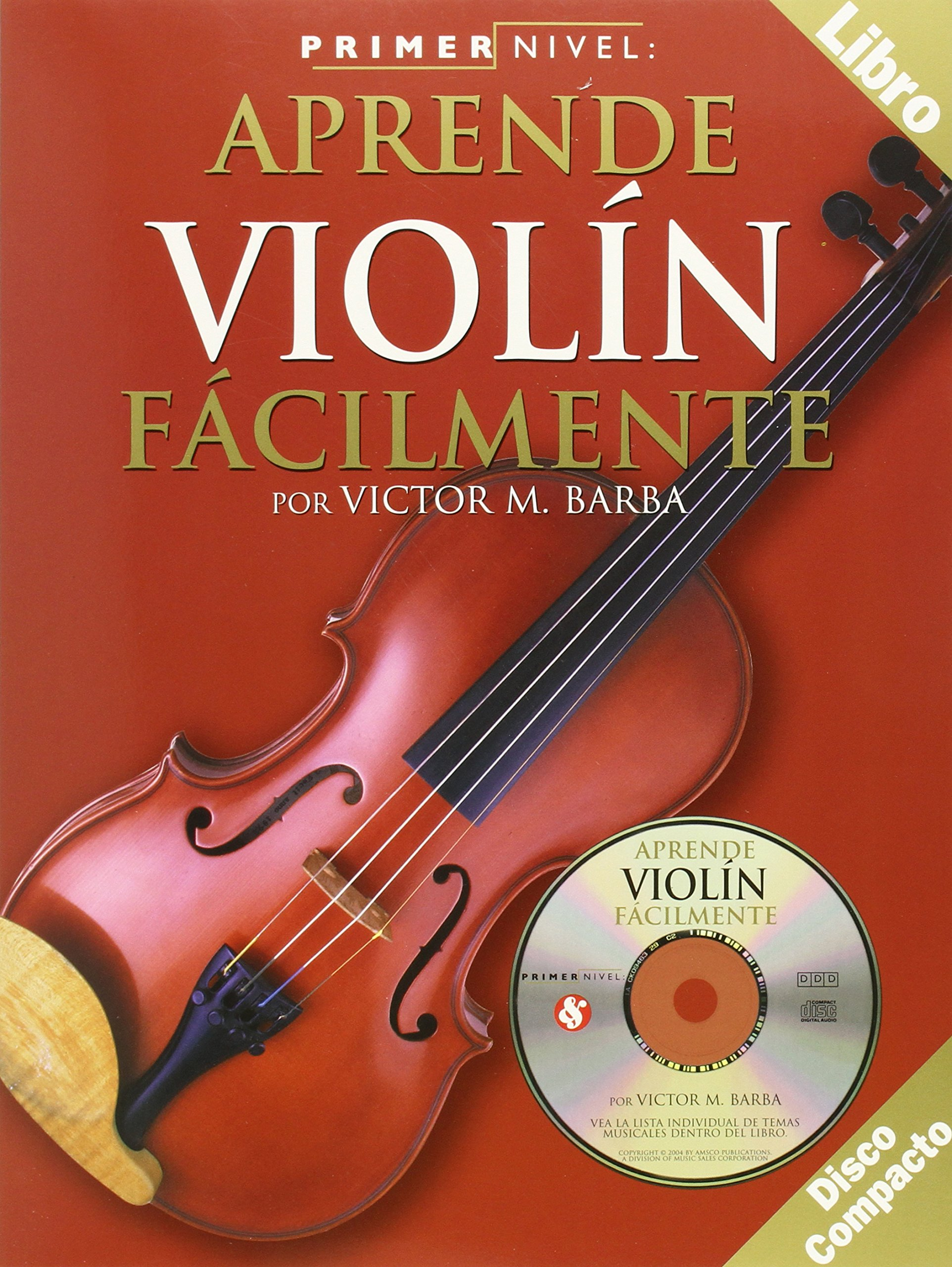 Aprende Violin Facilmente [With CD] (Primer Nivel): Amazon.es ...